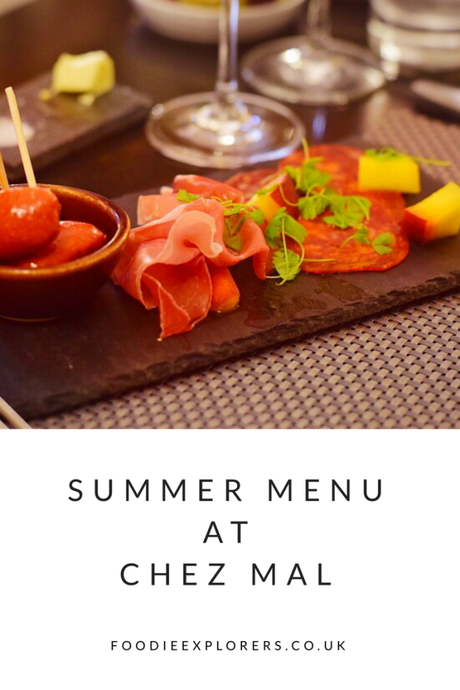 Summer Menu launches at Chez Mal