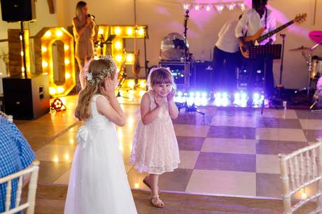 children on the dance floor
