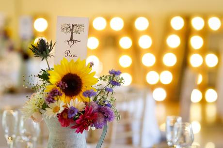 table details at hautbois hall