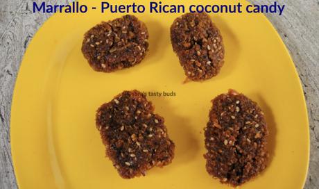 Marrallo - Puerto Rican Coconut Candy #EattheWorld