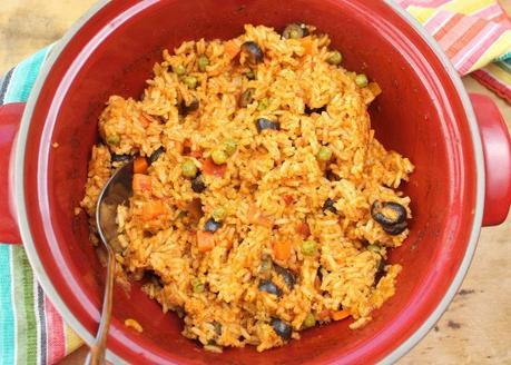 Sofrito Rice #EattheWorld