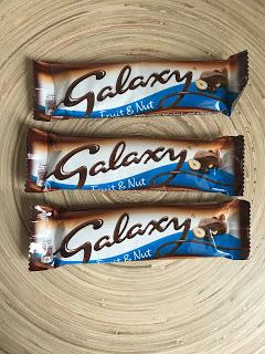 Galaxy Fruit & Nut Chocolate Review