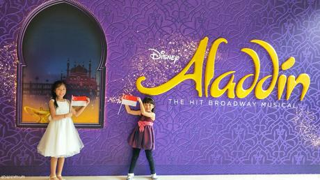 Shiny, Shimmery and absolutely SPLENDID {Review of Aladdin The Musical}
