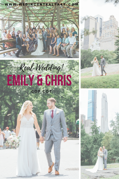 Chris and Emily's July Cop Cot Wedding