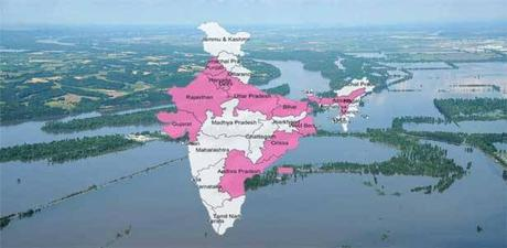 Before, During and After The Flood In India