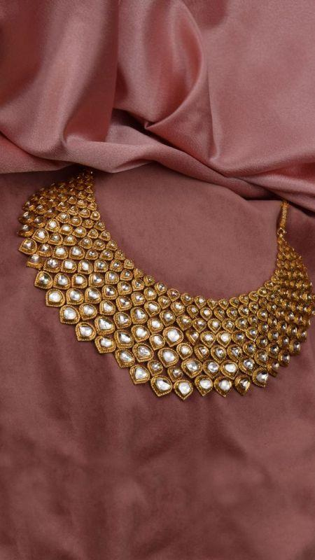 Polki Diamond Necklace