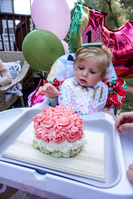 one in a melon first birthday party