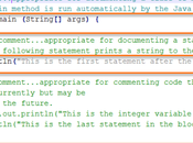 Best Practices Write Comments Your Code