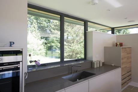 double glazing in a kitchen