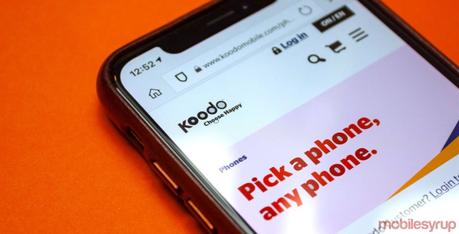 Koodo offering some customers $70/15GB, $75/20GB plans