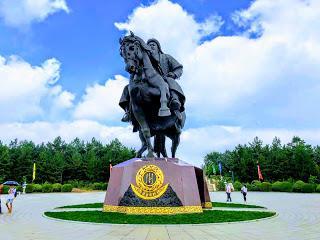 Inner Mongolia... A Modern Ghost City!