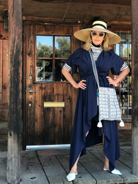 Wine Country Getaway ... One Dress 4 Ways