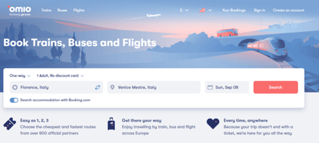 Omio Review – The Best Way to Book Europe Train Tickets
