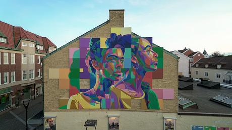 New Dourone mural in Sweden