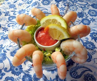 Back to the 60's Shrimp Cocktails
