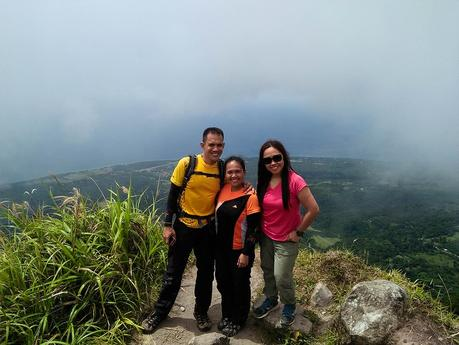 Pinoy Travel Bloggers on Mt. Hibok-hibok