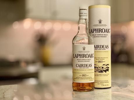 An East Coast / West Coast Whisky Review of Laphroaig 2018 Cairdeas Fino Cask Finish