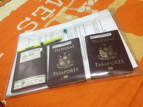 Passports of the family