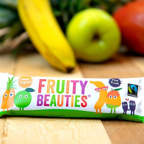 Interview with Alicia and Lucy from Fruity Beauties. Their Five Fruit snack bars are organic and Fairtrade and now stocked in Ocado.