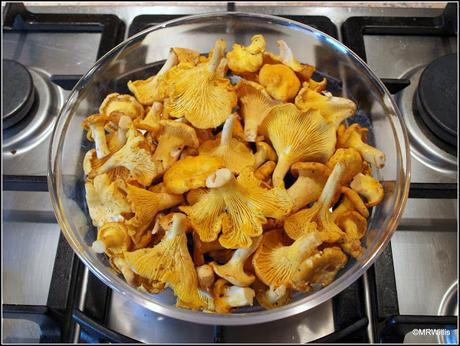 Recipe: Chanterelles with pappardelle