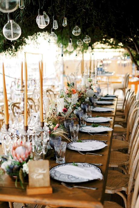 Gorgeous wedding in Cyprus with a bohemian chic theme