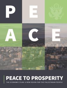 Palestine: Peace & Prosperity Plan