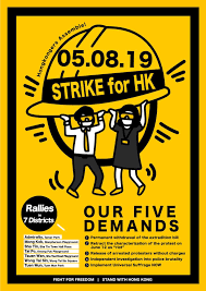 Hong Kong's 5 demands