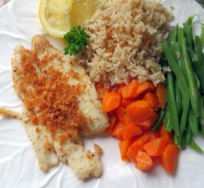 Fillet of Sole with Fresh Breadcrumbs