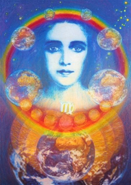 Virgo – The World Mother, Planetary Chains and Root Races