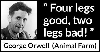 Four Legs Good - Thanks, George