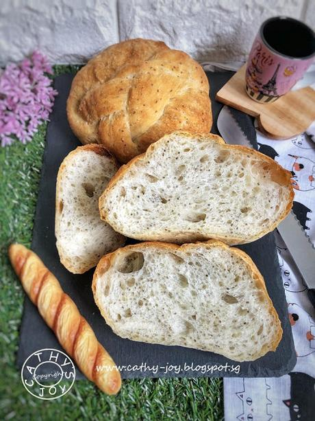 Easy Chia Seeds Loaf
