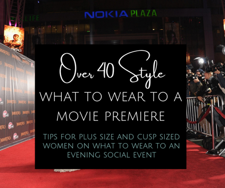 What to Wear to a Movie Premiere or Similar Social Event?