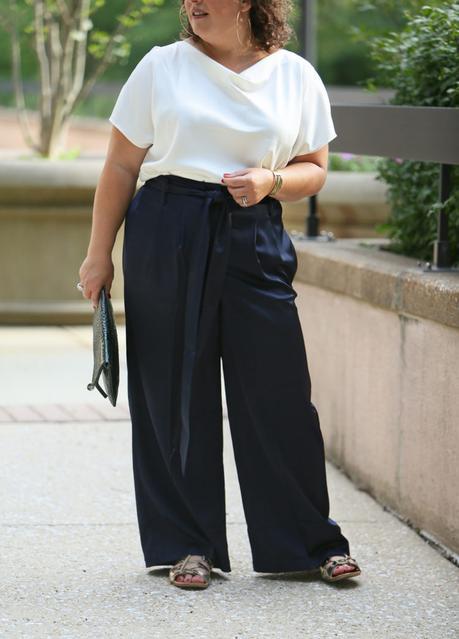 Figure Flattery and Full Leg Pants