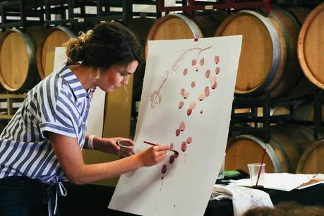 Wine Painting with Elysia Meyers at Red Car Wine