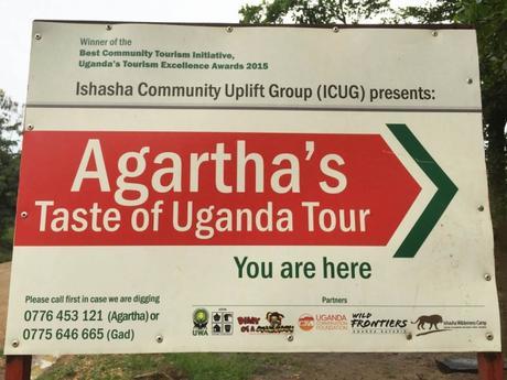 Agartha's Taste of Uganda community tour Ishasha
