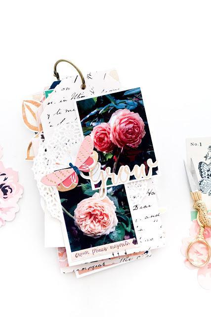 Maggie Holmes Design Team : Grow With Love Mini Album