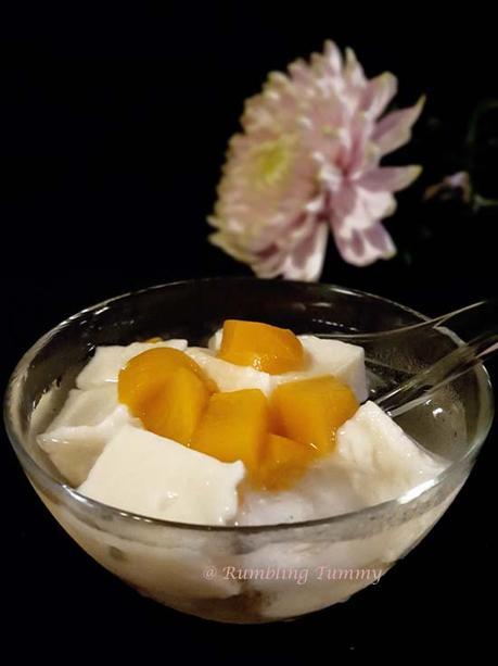 Taiwanese Almond Tofu 台湾杏仁豆腐