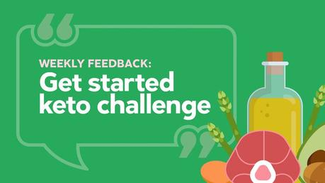 """The keto challenge: """"Priceless knowledge, great support"""""""