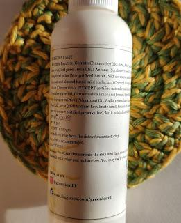Greenie Mill Mango And Chamomile Cleansing Cream Review