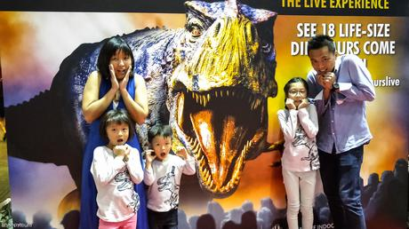 WALKING WITH DINOSAURS – The Live Experience roars into Singapore