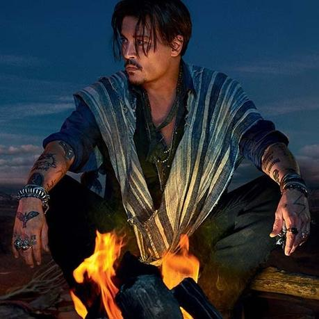 Johnny Depp Returns as the Face of Dior Sauvage Fragrance