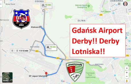 The Gdańsk Airport Derby! Derby Lotniska! Jaguar Gdańsk II v. UKS Klukowo