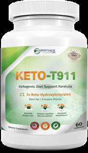 Keto T-911 Ketogenic Diet Support Formula