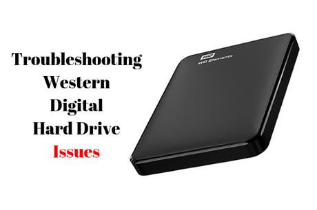 Troubleshooting Western Digital hard drive detection errors on Windows