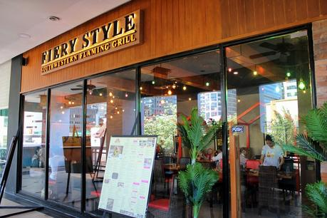 Quick Review: Fiery Style Southwestern Flaming Grill, Eastwood Mall