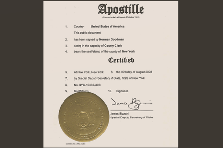 Learn The Procedure To Get Your Birth Certificate Apostilled