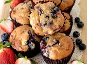 Sugar Moist Strawberry Blueberry Banana Muffins Fuss Free, Dairy Free Amazingly YUMMY!!! HIGHLY RECOMMENDED!