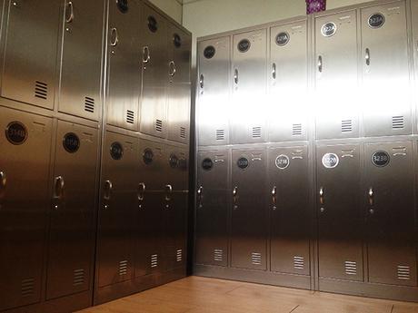 lockers at Dormitos