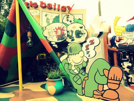 Image: Beetle Bailey | Universal Studios Islands of Adventure Orlando, by Merri on Flickr