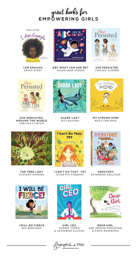 12 Books to Empower Girls